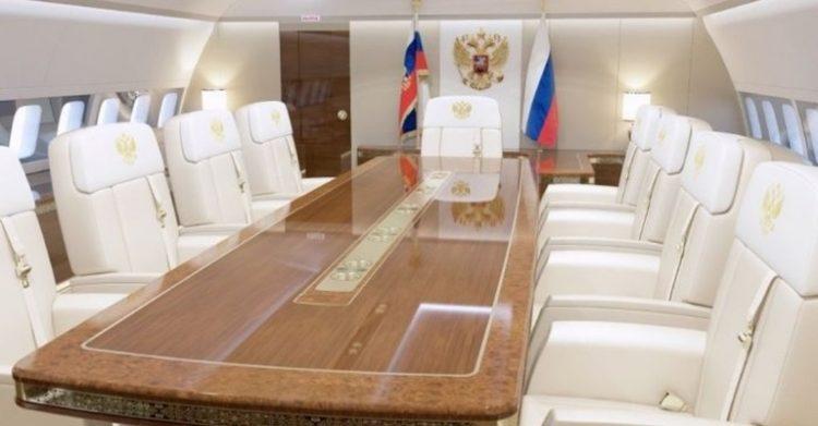 Авиапарк Путина: на чем летает российский президент