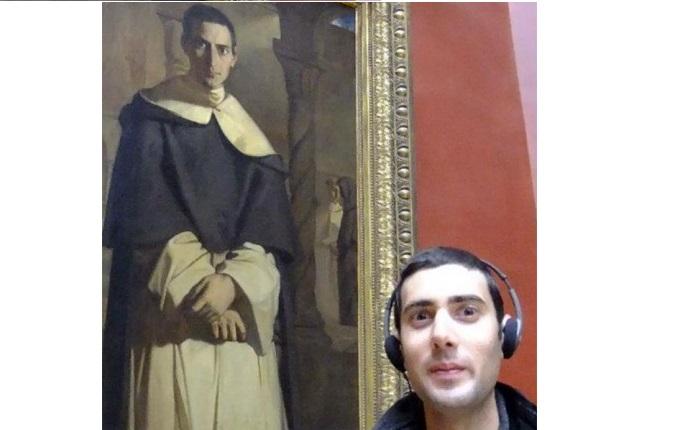 Люди, которые нашли в музее своих двойников, 23 фото