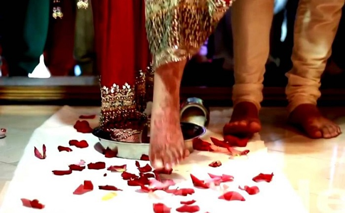 Непревзойденные традиции индийской свадьбы, 30 фото
