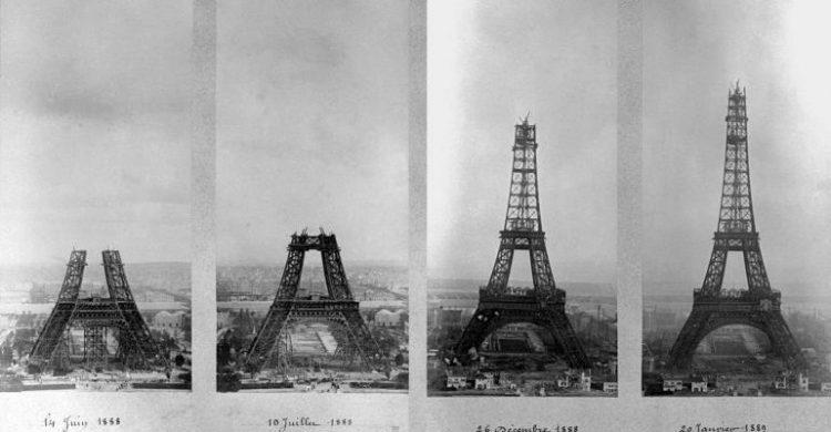 История создания Эйфелевой башни – самого известного символа Парижа