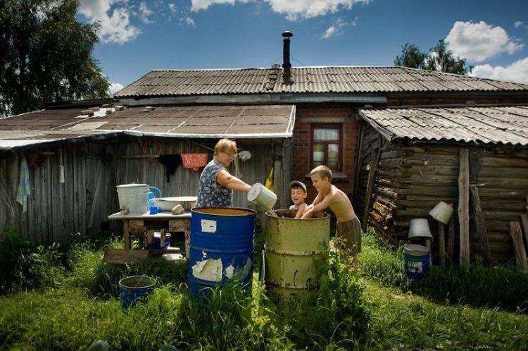 колорит русской деревни