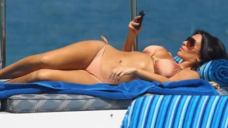 zvozdy v bikini Kim Kardashian West zvozdy v bikini