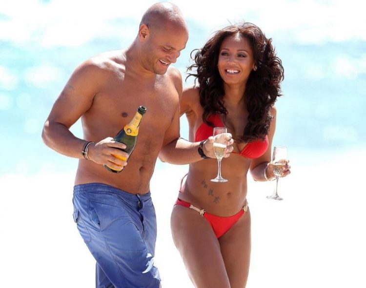 zvozdy v bikini Mel B and Mike Tyson in Malibu