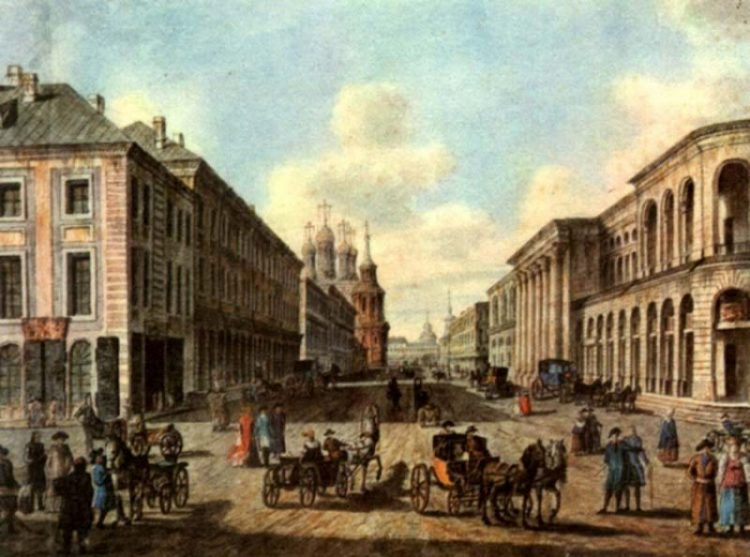 Как выглядела Москва до пожара 1812 года и после