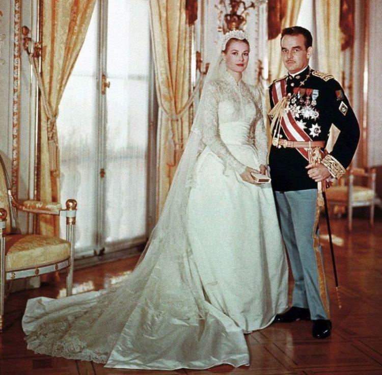 Грейс Келли и Принц Монако Райнер. 1956