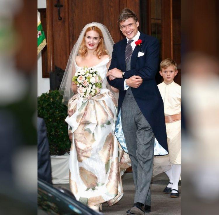 Принцесса Мария Терезия Турн и Таксис и Хьюго Уилсон. 2014