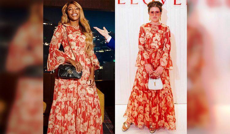 Битва нарядов: звезды демонстрируют одинаковые платья