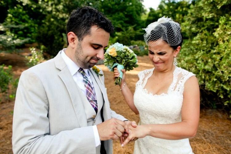 Свадебные снимки, которые стали семейной легендой